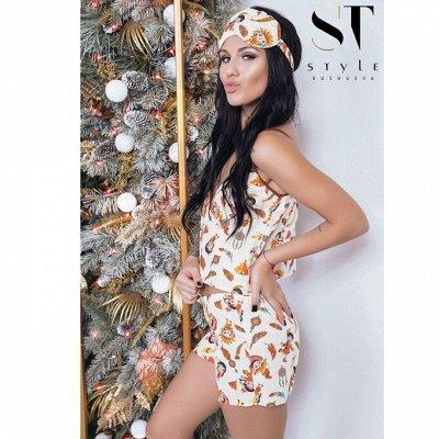 SТ-Style*⭐️Летняя коллекция! Обновлённая! — Комплекты для сна — Сорочки и пижамы