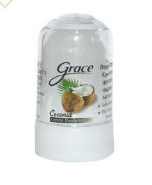 Дезодорант Кристалл Grace Кокос, 70 гр.