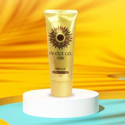 Распродажа!Японские витамины,капли-Черный понедельник-успей — Солнцезащитные крема UV Cut Gel от фирмы Daiso SPF50+ от 149 — Солнцезащитные средства