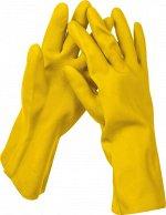STAYER OPTIMA перчатки латексные хозяйственно-бытовые