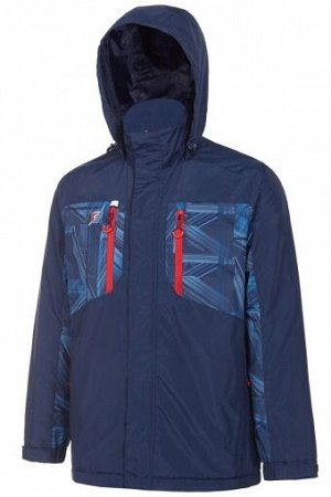 M09170G-NN182 Куртка на флисовой подкладке мужская (синий), XS, шт