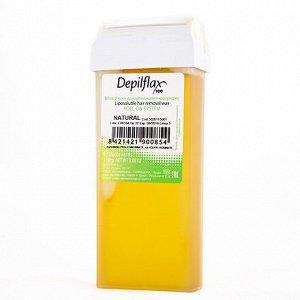 Depilflax, воск в картридже 110 г, натуральный