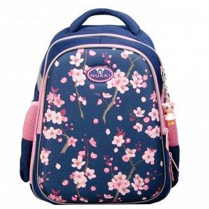 Школьный ранец XDB5A-070 Темно-синий/Розовый