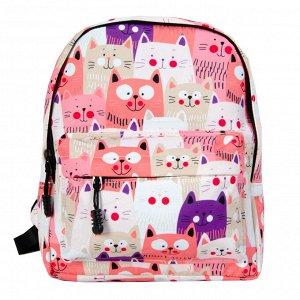 Дошкольный рюкзак DTN2-10 Розовый Котики