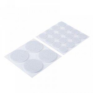 VETTA Накладки-протекторы для мебели, 4 штуки 3,7 см, 16 штук 1,8 см, фетр