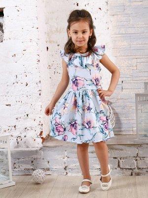 Платье Тиа акварель