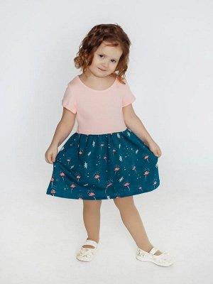 Платье Лето лапки