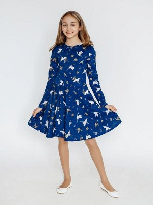 Платье Фея max журавли