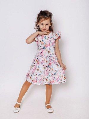 Платье Феечка Фламинго дид