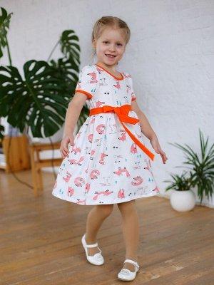 Платье Аленка лисы