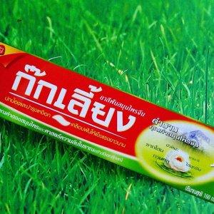 Зубная паста на натуральных травах лечебная, Kokliang, 100 гр
