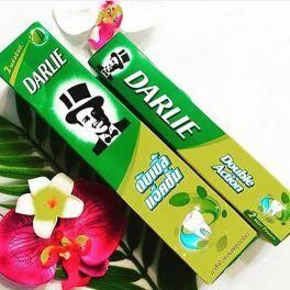 Зубная паста отбеливающая повседневная Дабл Экшэн с Мятой, Darlie, 35 гр