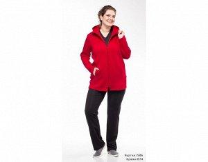 Куртка Куртка утеплённая на молнии с капюшоном, на полочке карманы в швах. Материал: COTTON с начёсом. Цвет - бордовый.