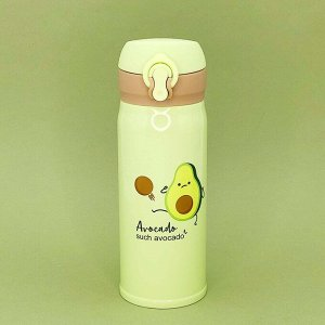 "Термос ""Avocado"", white-green (350ml)"