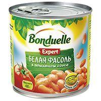 Bonduelle (Бондюэль) Фасоль белая в томатном соусе (425 мл)
