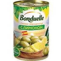 Bonduelle (Бондюэль) Оливки Мансанилья с лимоном (314 мл)
