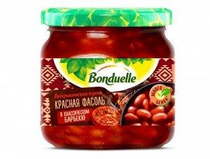 Bonduelle (Бондюэль) Фасоль красная в классическом барбекю (360 мл)
