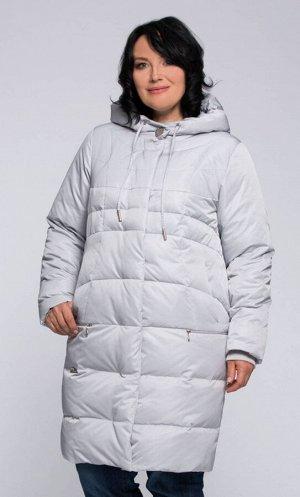 """Пальто """"Лоурен""""  светло-серый"""