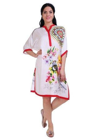 Платье Carissa Цвет: Белый, Мультиколор (one size). Производитель: Ганг