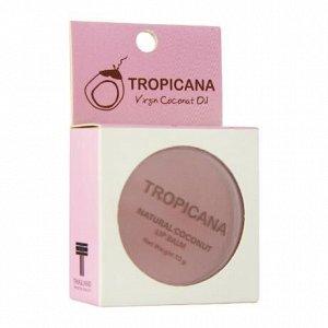 Бальзам для губ Кокос - ежевика, Tropicana