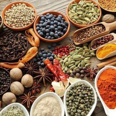 Специи для любых блюд и для засолки Инвентарь для кухни — Специи и приправы — Для рыбы, мяса и птицы