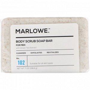 Marlowe, Men&#x27 - s, мыло-скраб для тела, № 102, 198,4 г