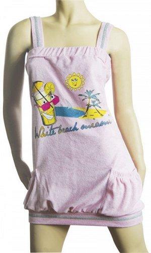 Сорочки для женщин (широкие бретельки/махро) 88120