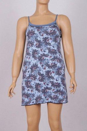 Сорочки для женщин большой размер (узкие бретельки/вискоза) 81517