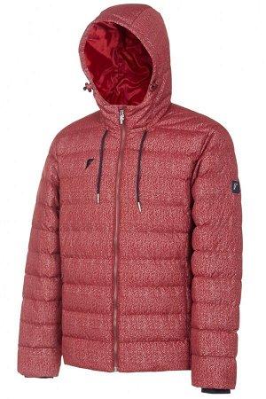 M08110G-RR182 Куртка с эко пухом мужская (красный), XL, шт