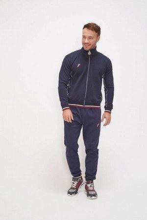 M04130G-NN201 Куртка тренировочная мужская (синий), 2XL, шт