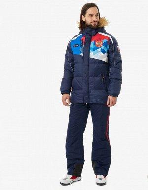 M08131G-FF172 Куртка пуховая мужская (синий/голубой), XL, шт