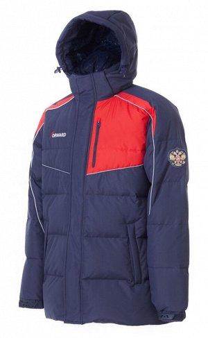M08151G-NR172 Куртка пуховая мужская (синий/красный), 3XL, шт