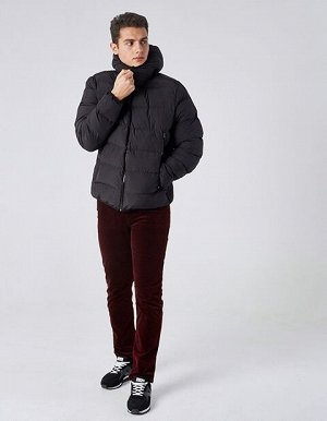 M08206FS-BB182 Куртка утепленная мужская (черный), L, шт