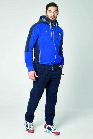 M06120G-AN192 Куртка флисовая мужская (голубой/синий), 2XL, шт