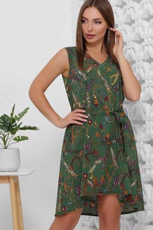 Платье 1859 зеленый