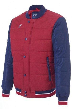 M08220G-RR182 Куртка утепленная мужская (красный), S, шт