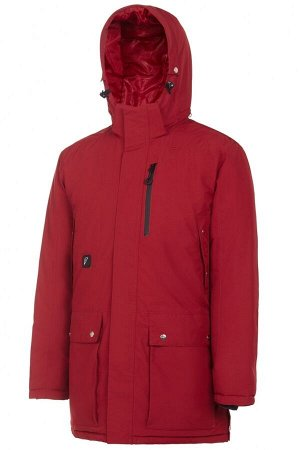 M08280G-RB182 Куртка утепленная мужская (красный/черный), L, шт