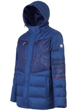 M08151G-NN182 Куртка пуховая мужская (синий), S, шт
