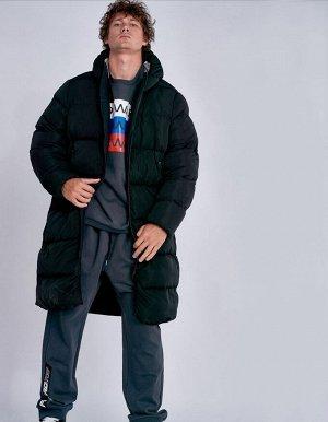 M08201FS-BB182 Пальто утепленное мужское (черный), L, шт