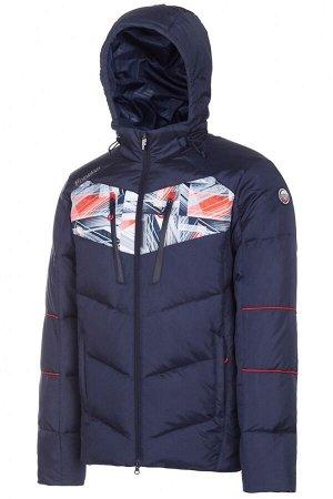 M08121G-NN182 Куртка пуховая мужская (синий), 2XL, шт