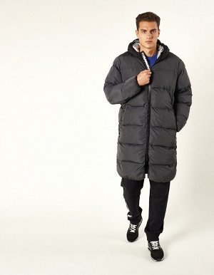 M08201FS-GB182 Пальто утепленное мужское (серый/черный), L, шт