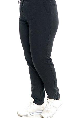 Брюки-1728 Модель брюк: Прямые; Материал: Искусственный шелк;   Фасон: Брюки Брюки на кулиске искусственный шелк черный Элегантныебрюки из мягкой струящейся ткани с модным эффектом крэш. Модель отлич