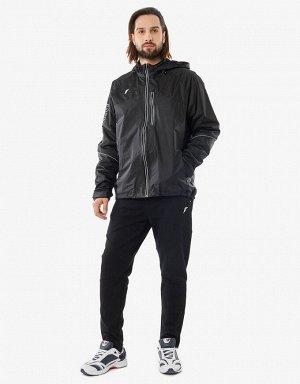 M02110G-BB191 Куртка ветрозащитная мужская (черный), M, шт