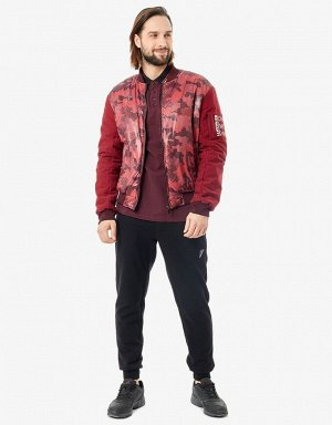 M08280SF-CC191 Куртка мужская (бордовый), L, шт