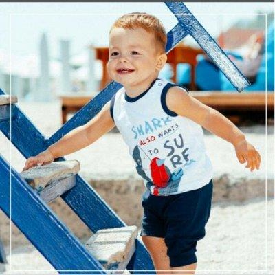 ТМ Смил. Дети, как они есть. Новые коллекции+ SALE — Летние комплекты бейби-мальчики — Костюмы и комбинезоны