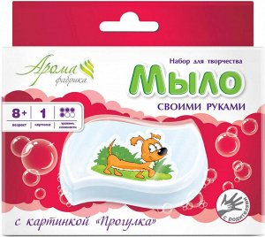 Набор для изготовления мыла Прогулка аромат Малина