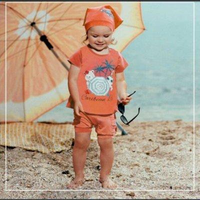 ТМ Смил. Дети, как они есть. Новые коллекции+ SALE — Летние комплекты бейби-девочки — Комбинезоны и костюмы