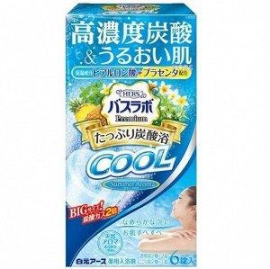 """226513 """"Hakugen Earth"""" """"HERS Bath Labo Premium COOL"""" Освежающая соль для ванны с повышенным содержанием углекислого газа"""