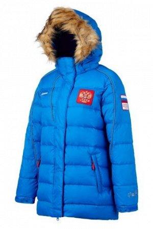W08132G-FF165 Куртка пуховая женская (голубой), XS, шт