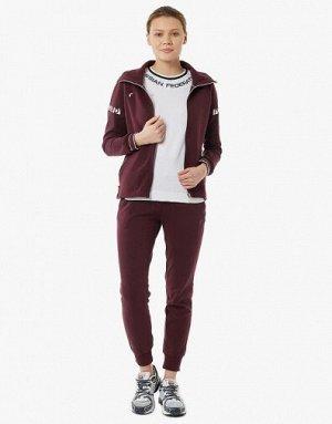 W04110G-CC191 Куртка тренировочная женская (бордо), XS, шт